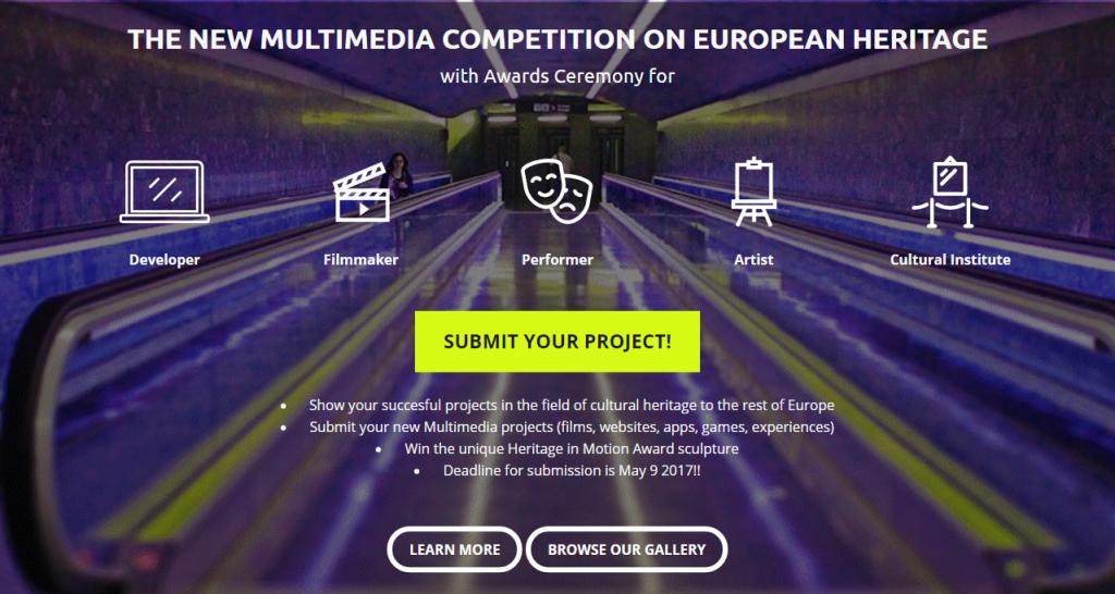 heritage in motion конкурс музейного мультимедиа